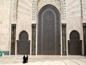 Titanium doors.