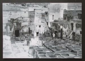 Tannery curing pits circa 1915.