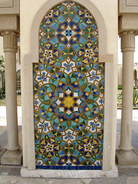 Tile decoration.