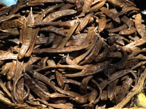 Dry carob beans (Ceratonia siliqua) are also known as St John's-bread.