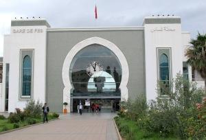Fez railway station.