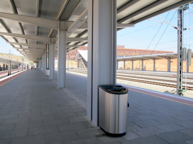 Cuenca's high speed network station situated 7kms from the town.