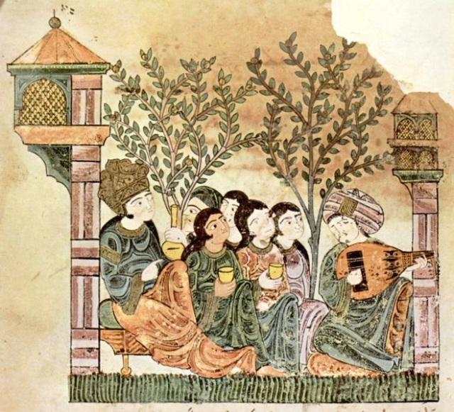 Depiction of Moors in Iberia. Image credit: Compilation copyright, Maler der Geschichte von Bayad.