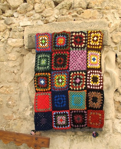 Granny square art.