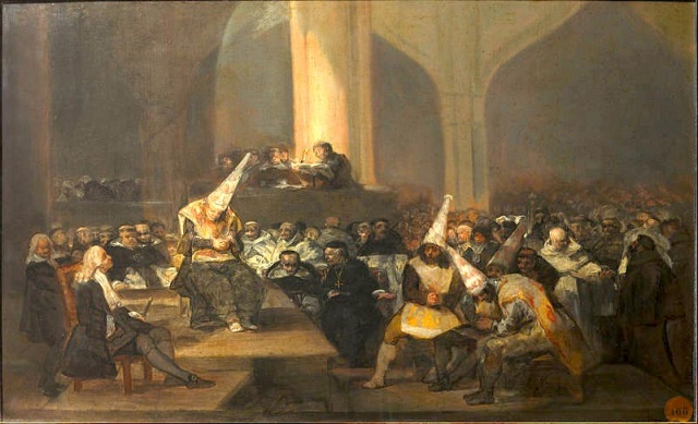 35 Goya painting Spanish Inquisition