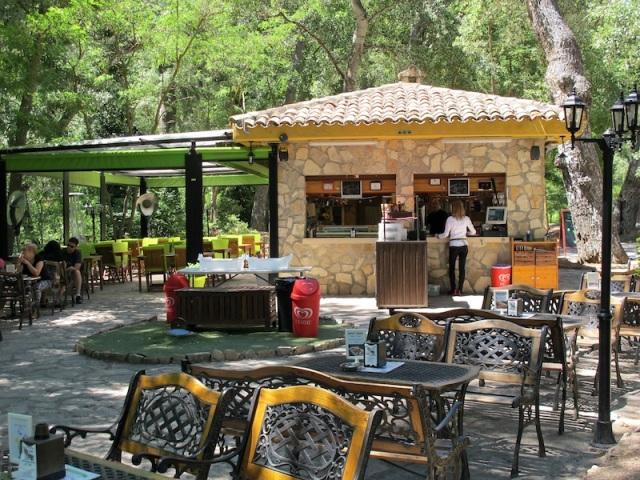 Terraza del Jucar Café.