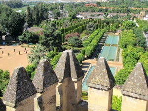 The gardens of the Alcazar. It's hard to imagine these tranquil gardens having seen inquisition times.