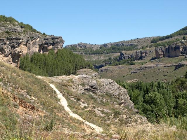 Cuenca karst landscape.