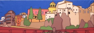 Farewell Cuenca. Detail from Colores Gallery.