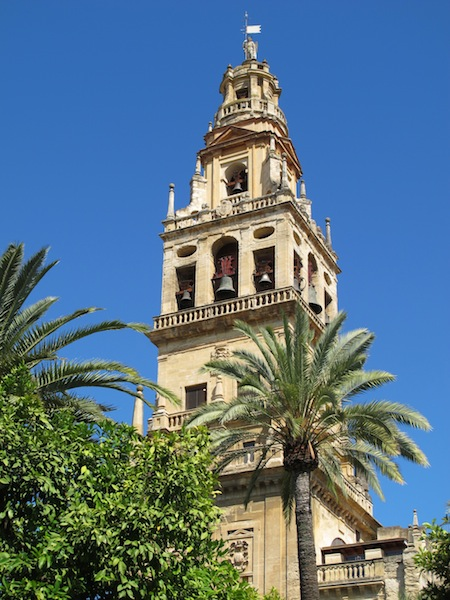 The Mezquita-Catedral bell tower.