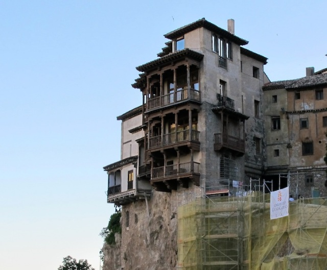 The most photographed of the Hanging Houses, presently the Spanish Abstract Art Museum of Cuenca.