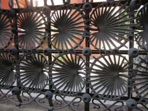The unique fence.