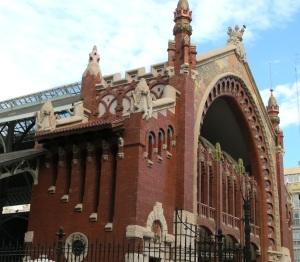 Valencia's Colon Market building.