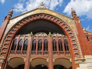 The facade of the Colon Market.