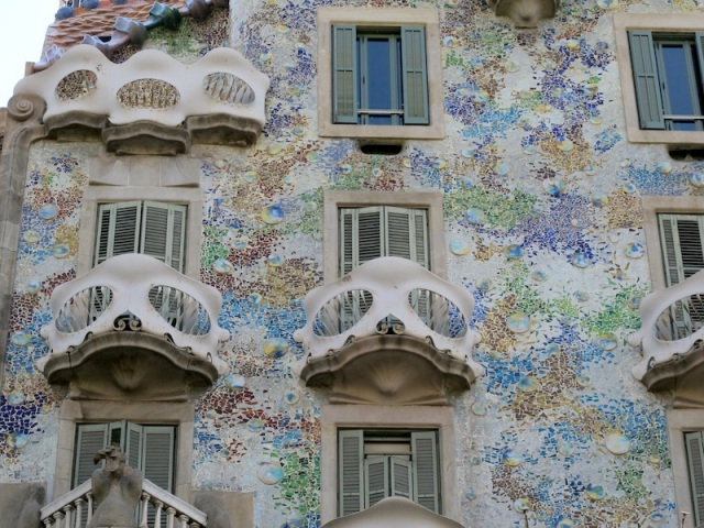 Casa Batilo. Portion of the Casa Batilo is a museum devoted to Gaudi's work.