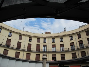Upper floors of the Plaza Redonda.