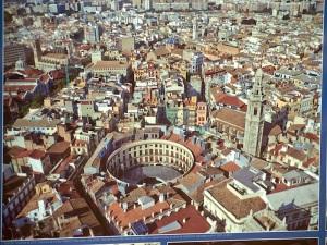 Aerial view Plaza Redonda