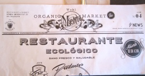 A great Barcelona restaurant for healthy food.