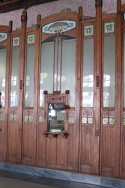 Ticket window No 4.