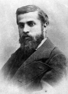 Antoni Gaudi at the age of 26. Prestigious photographer Adouard took this photograph in 1878. Image credit: Copyright free from Wikipedia.