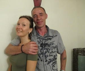 Recently married Olga and Remy (French) are, I am sure, bound for a long and fruitful life together.