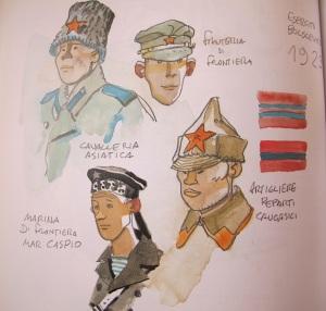 Pratt caricatures.