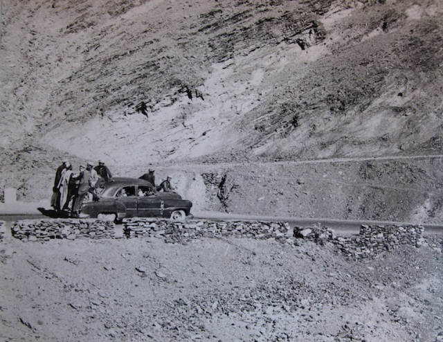 A local taxi going up the Khyber Pass.