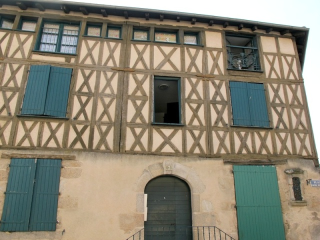 Moliere was thought to have stayed in one of the rooms of this house.