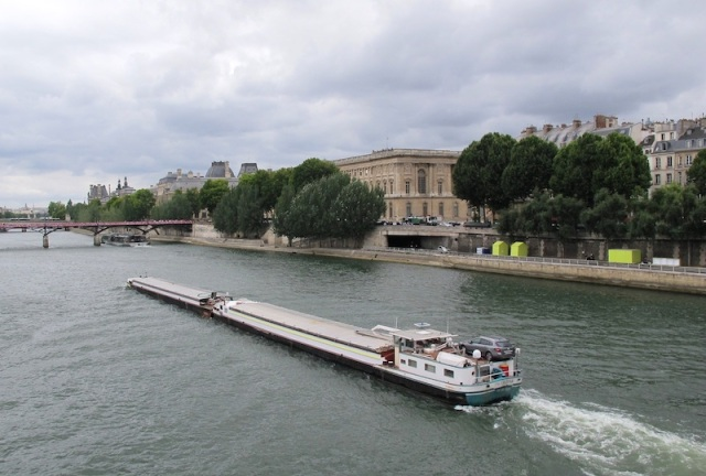On the River Seine.