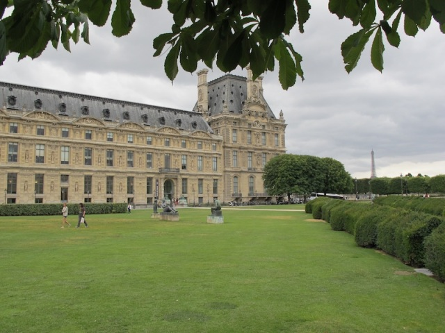 Tuileries Palace and Gardens.