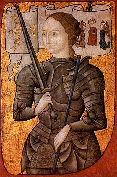The only portrait which Joan of Arc sat for. Image credit: from Historique des Archives Nationales Paris. Via New World Encyclopedia.