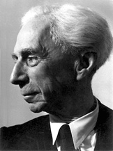 Bertrand Russell 1872-1970. A phrenologist's delight. Image credit: From Bertrand Russell biography (www.nobelprize.org).