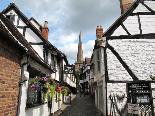 Church Lane is the most photographed street in England, according to locals.