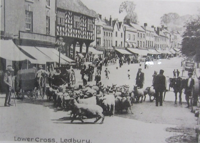 How it was in Ledbury before the advent of the motorcar.