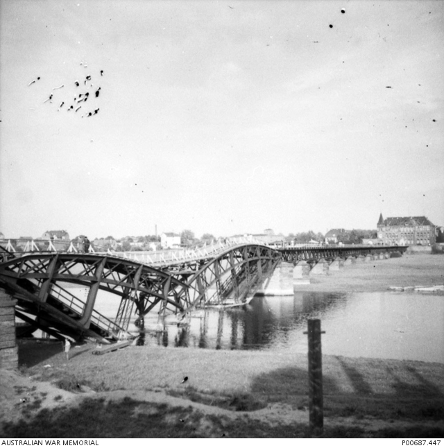 16 Destroyed Arnhem bridge