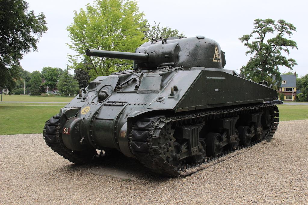 36 Sherman tank Arnhem